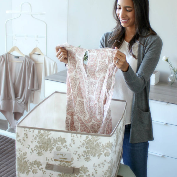 5 tips for spring cleaning your closet